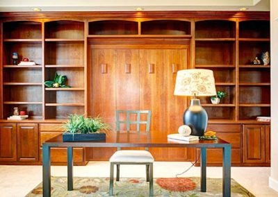 Custom home office storage & home office space Hermosa Beach