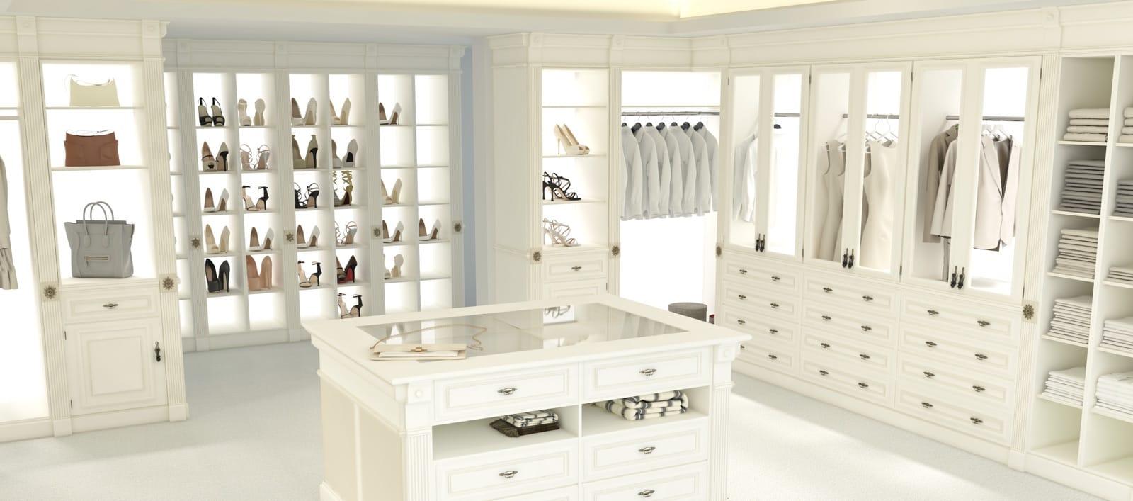 Wardrobe Rooms Los Angeles Custom Designed Amp Built Closets