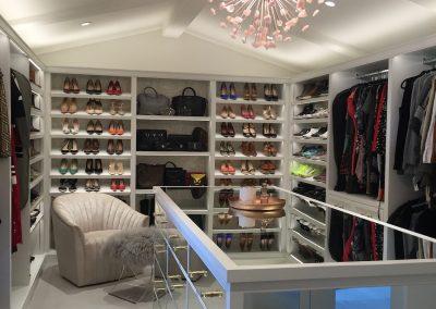 luxury wardobe closet & custom walk in closet organizer Brentwood