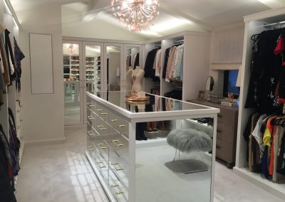 luxury wardobe closet & custom walk in closet organizer Pacific Palisades