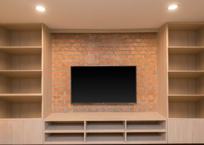 Custom Built-in Entertainment Center - Orange County