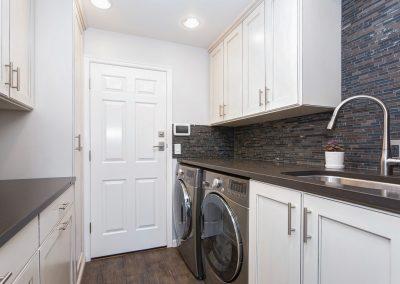 Custom Laundry Storage & Shelving - Orange County