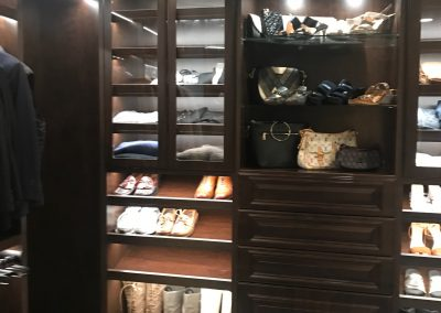 Manhattan Beach - Custom Walk in Closet - Luxury Wardrobe Room - Lighting 3