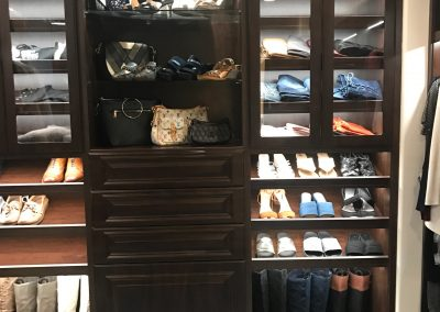 Manhattan Beach - Custom Walk in Closet - Luxury Wardrobe Room - Lighting 4