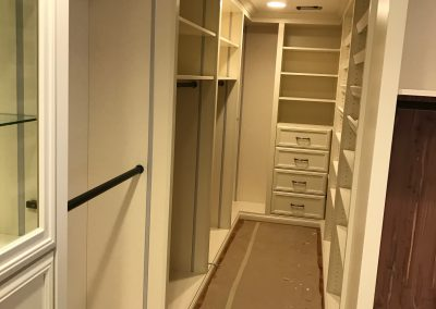 Rancho Palos Verdes - Custom Walk in Closet - Wardrobe Room - Lighting 4